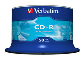 VERBATIM OPSLAGMEDIA CD-DVD-BLURAY VERB-43351