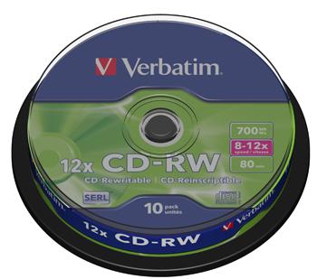 VERBATIM OPSLAGMEDIA CD-DVD-BLURAY VERB-43480