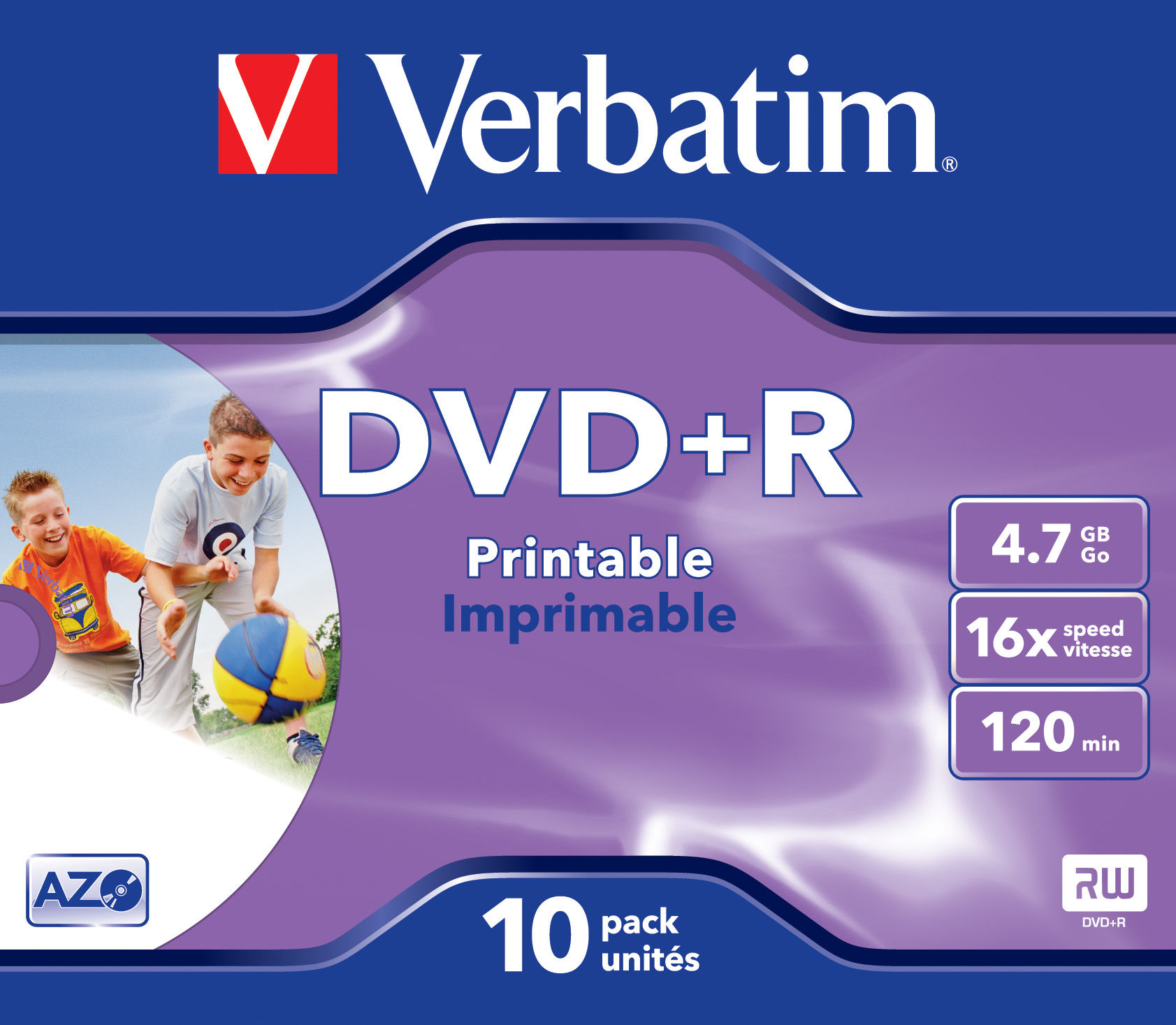 VERBATIM OPSLAGMEDIA CD-DVD-BLURAY VERB-43508