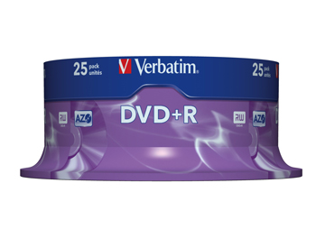 VERBATIM OPSLAGMEDIA CD-DVD-BLURAY VERB-43500