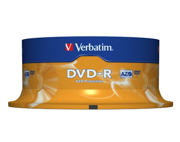 VERBATIM OPSLAGMEDIA CD-DVD-BLURAY 43522