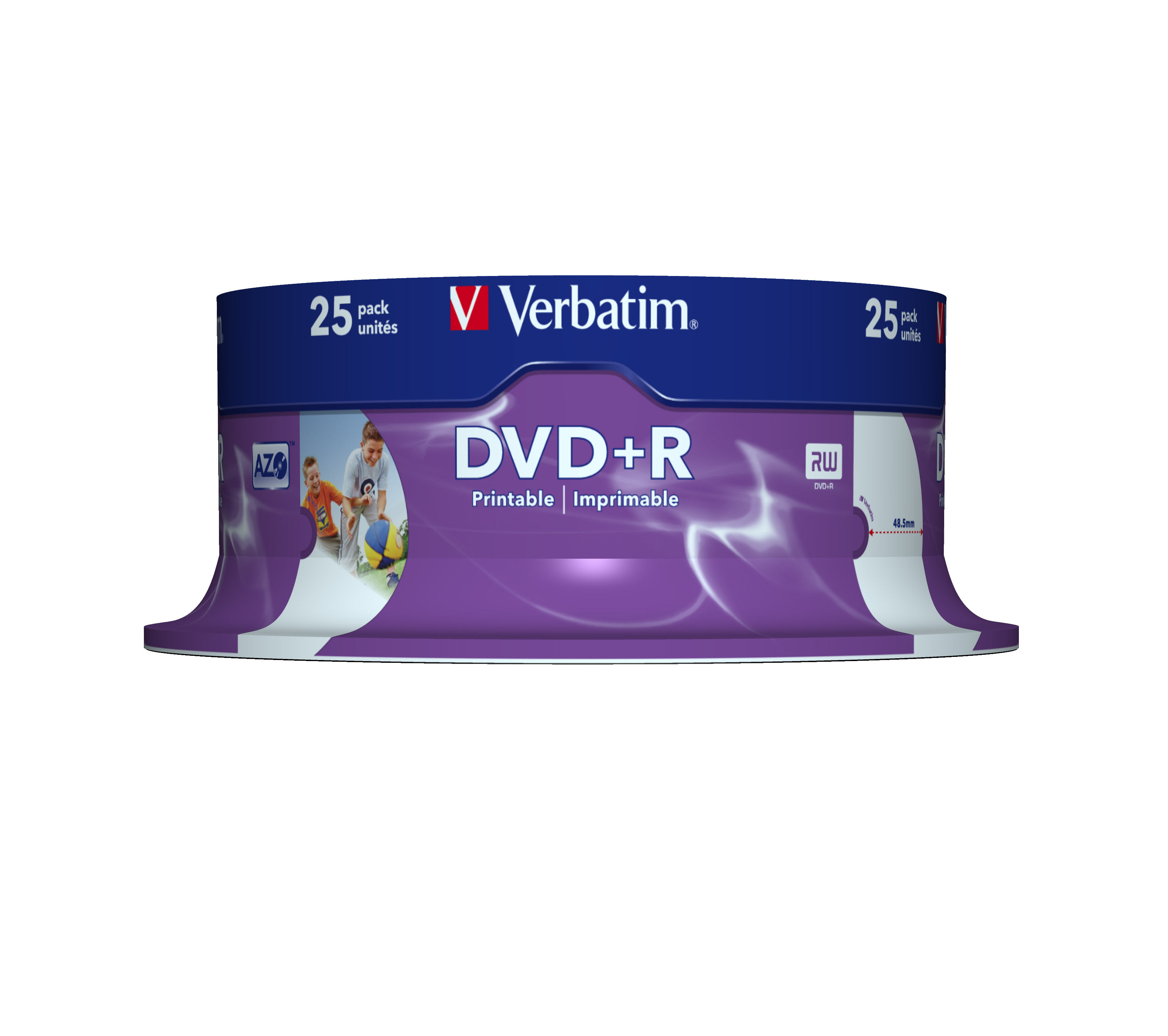 VERBATIM OPSLAGMEDIA CD-DVD-BLURAY 43539