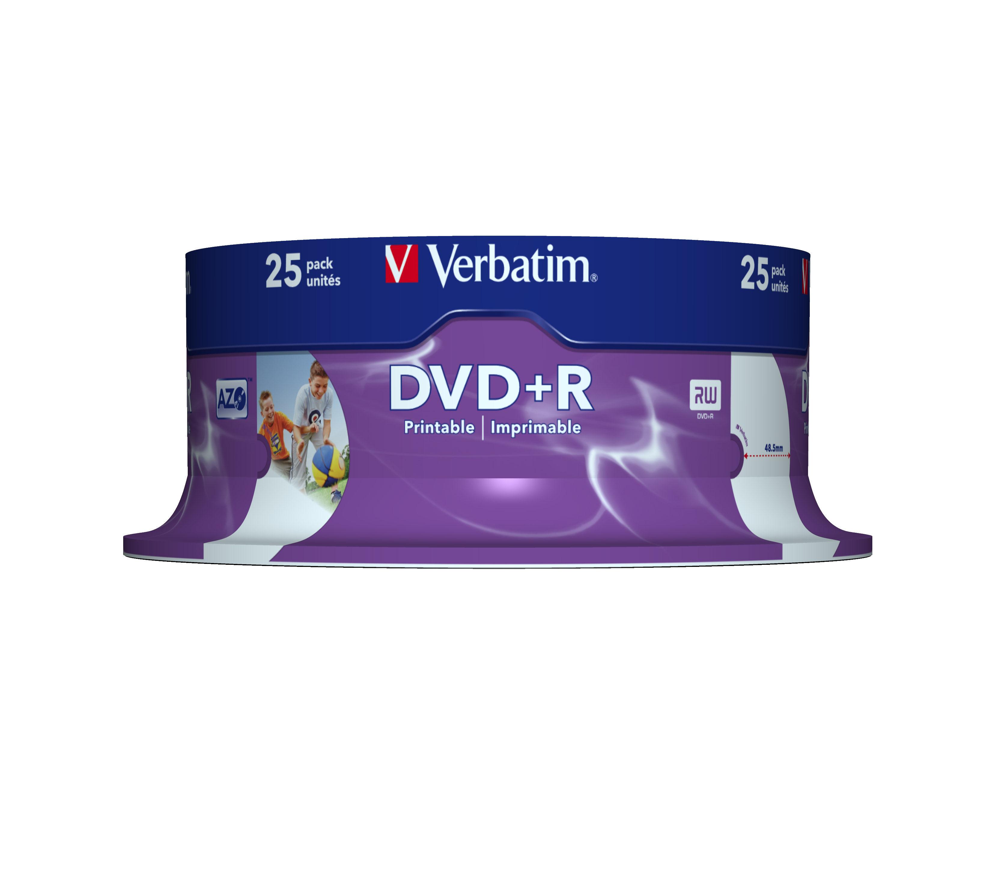 VERBATIM OPSLAGMEDIA CD-DVD-BLURAY VERB-43539
