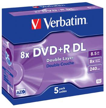 VERBATIM OPSLAGMEDIA CD-DVD-BLURAY VERB-43541