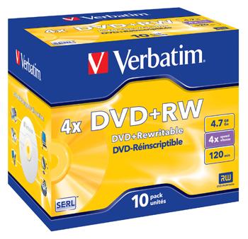 VERBATIM OPSLAGMEDIA CD-DVD-BLURAY VERB-43246