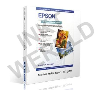 EPSON MAT PAPIER HEAVYWEIGHT ARCHIVAL 192 GRAMS