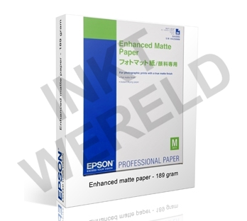 EPSON ENHANCED WEIGHT MAT PAPIER 189 GRAMS