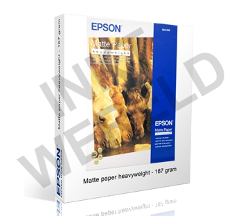 EPSON MAT PAPIER HEAVYWEIGHT 167 GRAMS