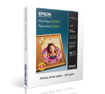 EPSON GLOSSY PHOTO PAPER 225 GRAM