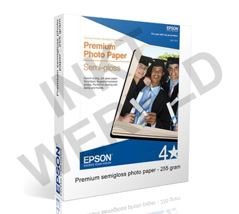 EPSON PREMIUM SEMIGLOSS PHOTO PAPER 255 GRAMS