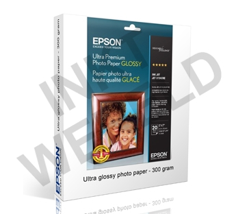 EPSON ULTRAGLOSS PHOTOPAPER 300 GRAMS