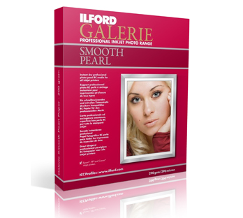ILFORD GALERIE SMOOTH PEARL PAPER 290 GRAMS