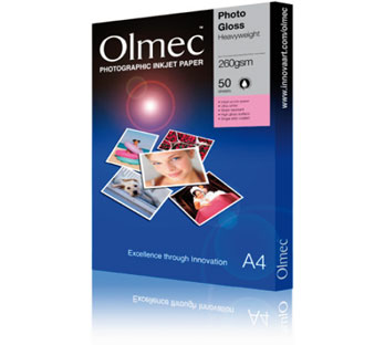 OLMEC HIGH GLOSS PHOTO PAPER 260 GRAM