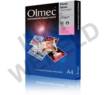 OLMEC HIGH GLOSS PHOTO PAPER 260 GRAM