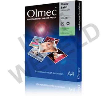 OLMEC SEMI-GLOSS PHOTO PAPER 240 GRAM