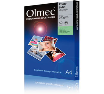 OLMEC SEMI-GLOSS PHOTO PAPER 240 GRAM