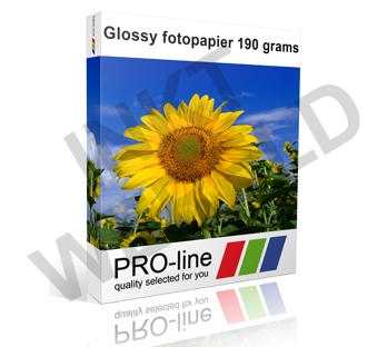 PROLINE FOTOPAPIER ULTRA WHITE HOOGGLANS 190 GRS